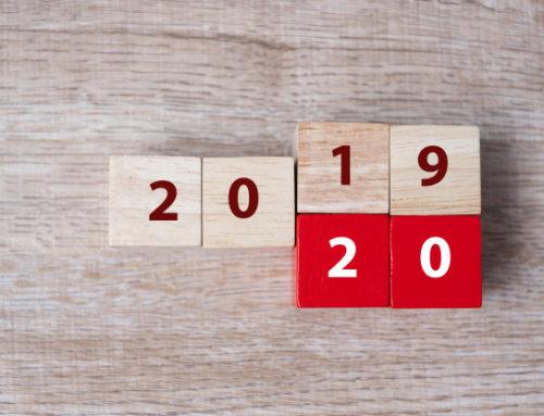 Terugblik 2019 en vooruitblik 2020